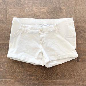 Liz Lange for Target Maternity Midi White Shorts